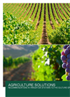 Agriculture Solutions - Recommendations in Irrigation Systems to the Culture of Grapevine - Application Brochure