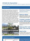 LG Sonic  - Aquaculture Application Brochure