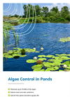 Algae Control in Golf Course Ponds brochure