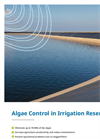 Algae Control in Irrigation Reservoirs - Brochure