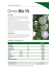 Model Bio 15 - Biostimulant Combining Mineral Nutrition - Brochure