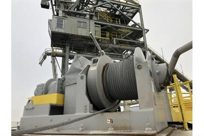 Thern's Winches in Waterfront Operations