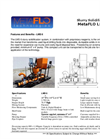 MetaFLO - Model LMS 6 - Slurry Solidification System - Brochure