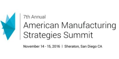 6th Annual American Manufacturing Strategies Summit 2016