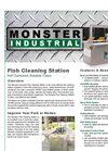 Monster Industrial - Fish Cleaning Station - Brochure