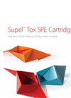 Supel - Model Tox SPE - Cartridges - Brochure