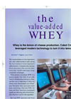 The value added WHEY