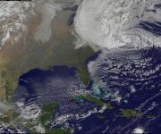 Sandy`s `freaky` path may be less likely in future