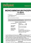 Simplot 11-52-0 - Mono Ammonium Phosphate Datasheet