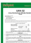 Simplot 32-0-0 - Urea Ammonium Nitrate Solution Datasheet
