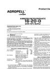 Simplot 16-20-0 - Ammonium Phosphate Fertilizer Datasheet