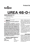 Simplot 46-0-0 - Urea Fertilizer Datasheet