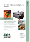 Joracompost JK 5100 - Brochure
