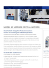 GT Advanced Technologies - K1 - Sapphire Crystal Grower Brochure