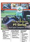 PT-120 10 Foot Pull Compost Windrow Turner Brochure