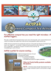 Actpak - Model TE500 - Extracted Compost Tea Activator - Brochure