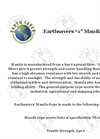 Earthsavers - Model ¼ - Manila Rope Datasheet