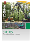 Neuson Forest- Model 103HV - Manoeuvrable Tracked Harvester Brochure
