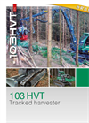 Neuson Forest - Model 103HVT - Manoeuvrable Tracked Harvester Brochure