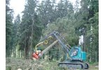 Neuson - Model 242HV - Tracked Harvester Device for Clear-Cutting