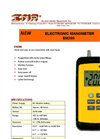 EM200 Electronic Manometer Brochure