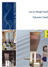 Model DCC - Loss In Weight Screw Feeders - Brochure