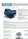 Munro - Model LP Series - Centrifugal Turf Irrigation Pumps - Brochure