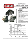 Model AgMiser Series - Gasoline Engine Driven Pumps  Brochure