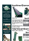 Model 143 - Incline Conveyor Brochure