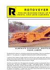 Rockland Rotoveyer Rock Picking Machine Spec Sheet