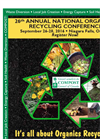 26th Annual National Organics Recycling & Compost Conference Agenda- Brochure