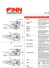 B-260 Straw Blowers - Shreds And Blows 20 Tons Of Straw Per Hour - Technical Specifications