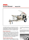 FINN - Model B70 - Straw Blowers - Shreds and Blows 6-7 Tons of Straw Per Hour - Datasheet