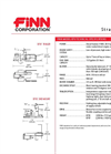 FINN - Model B70 - Straw Blowers - Shreds and Blows 6-7 Tons of Straw Per Hour - Technical Specifications