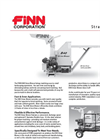 FINN - Model B40 - Straw Blowers - Shreds and Blows 2-3 Bales - Datasheet
