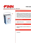 FINN HPN Additive System - Specification Sheet