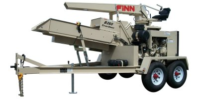 FINN - Model B260 - Straw Blowers - Shreds and Blows 20 Tons of Straw Per Hour