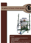 60 Gallon 3-Point 15` Boom Sprayer - Brochure