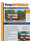 Dry Fertilizer Spreader- Brochure