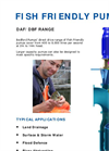 Fish Friendly Pump DAF & DBF Range - Brochure