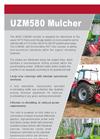 Mulcher UZM580 Brochure
