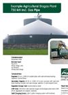 Example Agricultural Biogas Plant 750 kW incl. Gas Pipe Brochure (PDF 669 KB)