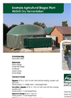 Example Agricultural Biogas Plant 460kW Dry Fermentation Brochure (PDF 574 KB)