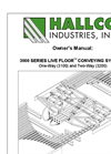3000 Series Live Floor Conveying Systems One-Way (3100) and Two-Way (3200) - User Manual