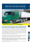 Super Duty - Model Shur-Lok - Grain Trailers- Brochure