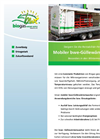 Mobile Heat Exchanger for Liquid Manure Flyer