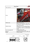 Straw Dust Extraction Data Sheet