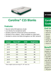 Low Density Blanks DataSheet