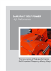 Samurai 7 Self-Propelled Chopping-Mixing Wagons - Brochure