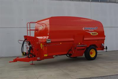 Samurai - Model SAM 7 - Trailed Horizontal Chopping-Mixing Wagons Without Silage Tiller
